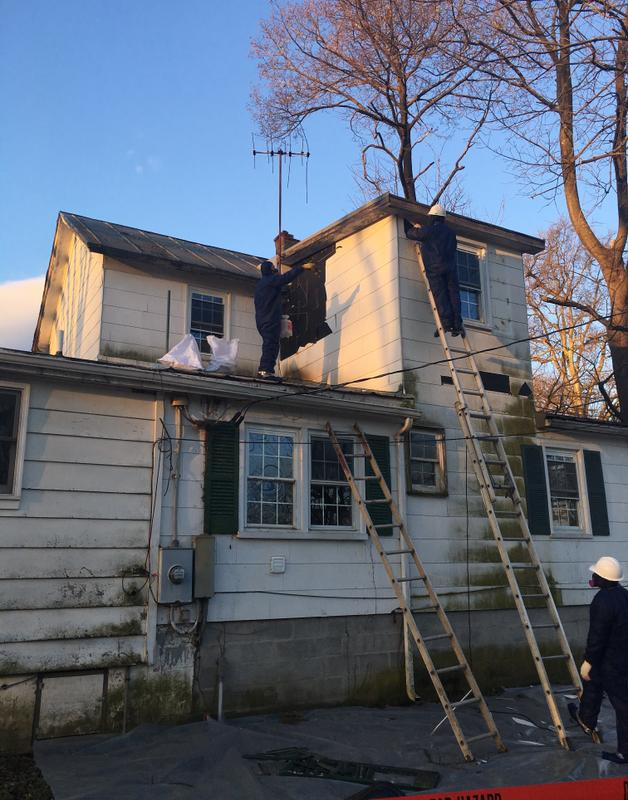 Asbestos Siding Removal in Northern Virginia